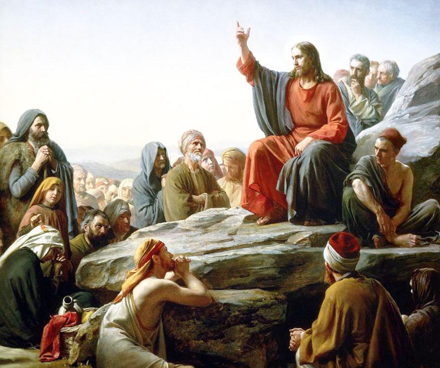 Predigt auf  dem Berg